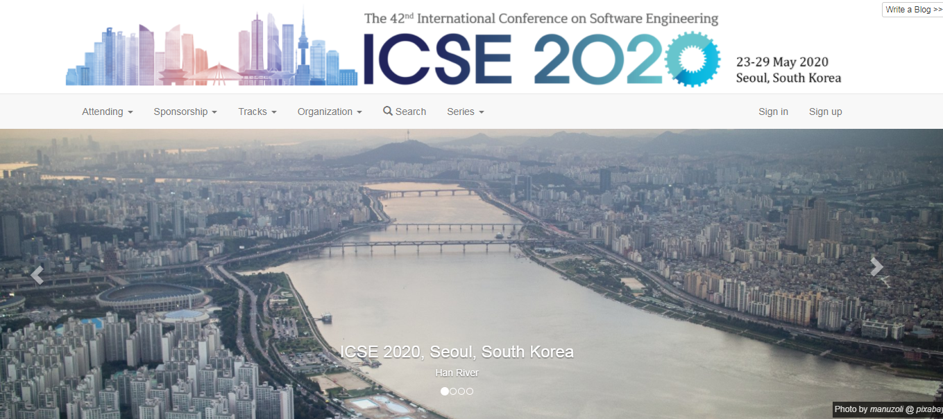 DEC 2019: Congrats to NengWen et al. on their ICSE SEIP 2020 paper !