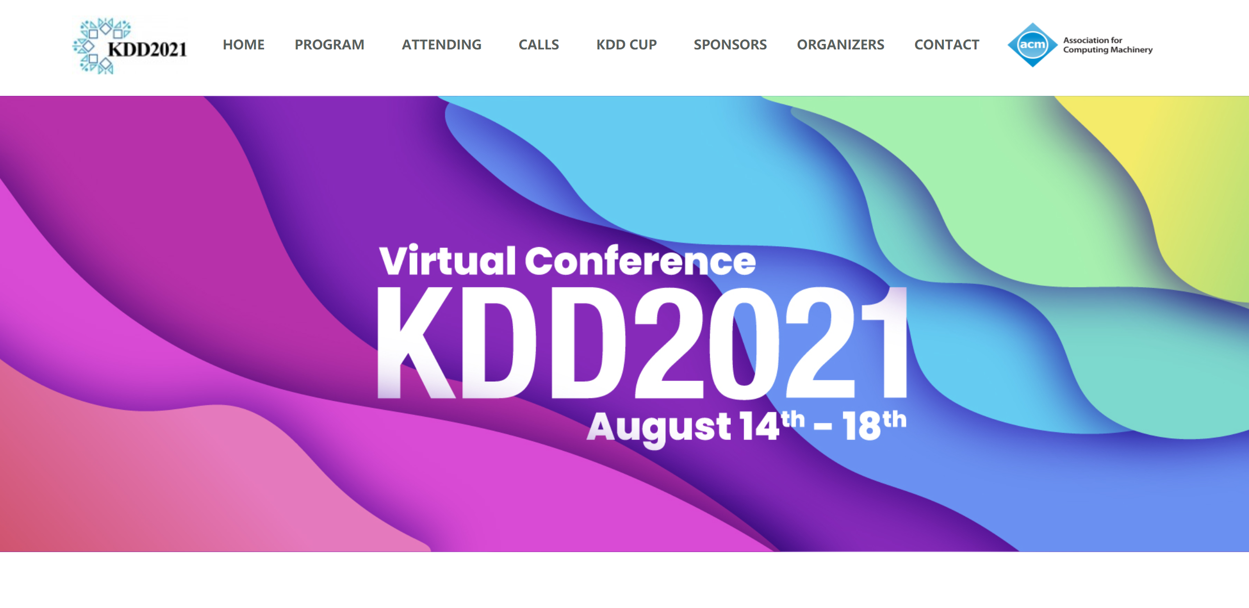May: Congrats to Zhihan et al. on their KDD 2021 paper !