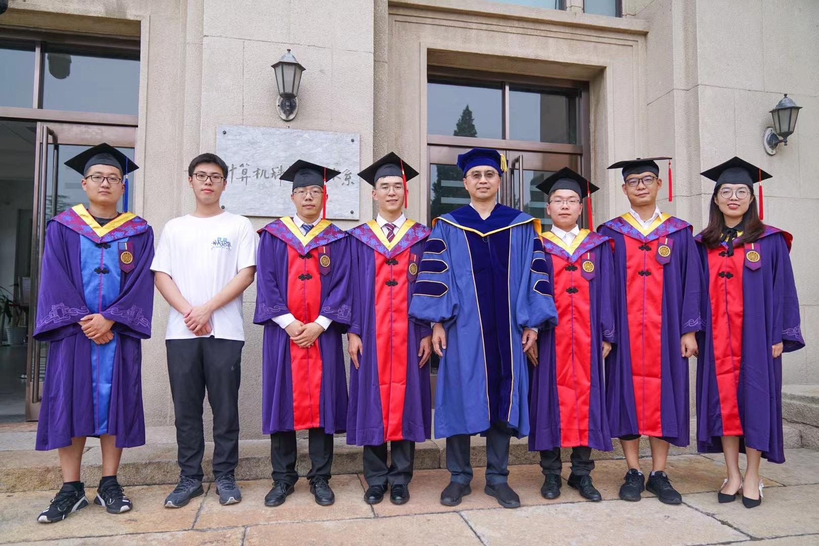 Congrats to Yao, Yingzhuo, Weibin, Minghua, Ya, Ping and Yuan on their graduation!